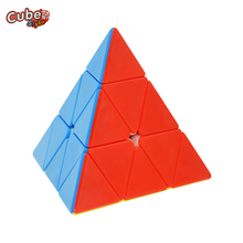 Cube Style Triumph Pyraminx 3x3x3 Pyramid Pyraminx Magic Cube Speed Puzzle Cubo Learning Education Toys For Children(China)