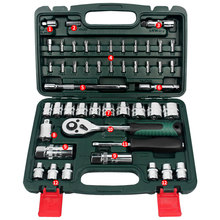 Bicycle Motor Car Repair Tool Set 48pcs Tool Combination Torque Screwdrivers Ratchet Socket Spanner Mechanics Tool Kits
