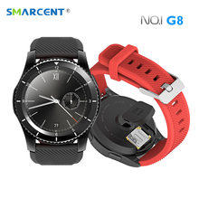 Buy SMARCENT No.1 G8 Bluetooth 4.0 Smart Watches Heart Rate Monitor Pedometer SIM Call Message Reminder Smartwatch Android IOS for $33.99 in AliExpress store