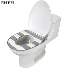 EHEH New Arrival zebra Warm Overcoat toilet case 5 Colors Available Soft Toilet mat U-Shaped Waterproof toilet seat cover EH028