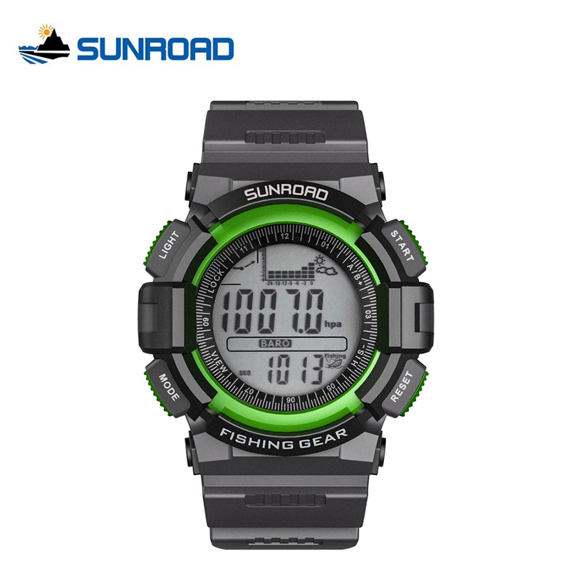 SUNROAD Mens Watch Weather Forecasting 30M Waterproof Fishing Outdoor Sports Fishing Watch with Barometer Thermometer Altimeter<br><br>Aliexpress