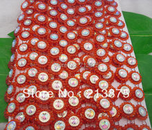 Free shipping 10Yards Red Plastic chain Costume Applique circular AB Resin Crystal Rhinestones Banding Trim Setting hong