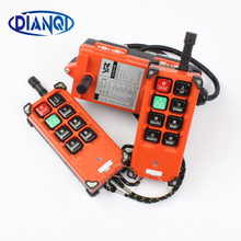 industrial remote controller switches 2 transmitter + 1 receiver Industrial remote control electric hoist(China)