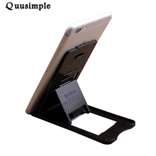 Universal Mobile Cell Phone Holder Stand Folding Adjustable Car Support Tablet Smartphone Card Mount For iphone 6 7 Plus samsung(China)