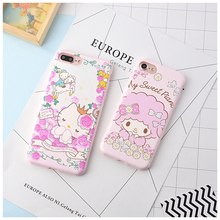 10 pcs/lot Hello Kitty Cactus Case For Coque iPhone 6 6s 6plus 7 7plus Cases Fundas Candy TPU Silicone Capinha Back Covers(China)