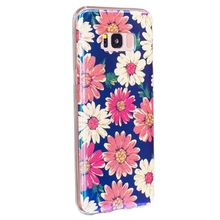 Flower Case For Samsung S8 S8 Plus Blue Ray Rose Heart Stars Ultra Case Soft TPU Back Phone Cover