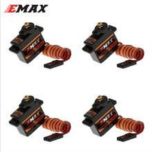 4pcs/lot Orginal New EMAX Servos ES08MD II 12g/ 2.4kg/ High-speed Mini Metal GEAR Digital Servo For RC Model(China)