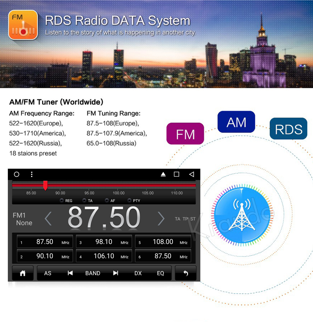 Krando chrysler 300C Android car radio gps dvd player navigation multimedia system (3)