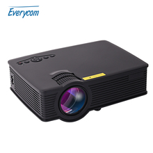 Everycom UC40S BT140 Mini Portable Projector Support full hd Home Theater UC40 plus projector Beamer Multimedia 1080p Video HDMI