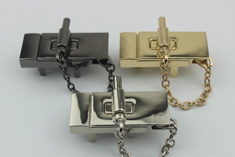 Kiss Clasp Lock Bronze Bags Hardware
