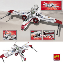 420pcs LELE Star The Clone Wars ARC-170 Wars Starfighter Set Building Blocks Bricks Educational kids Toys brinquedos