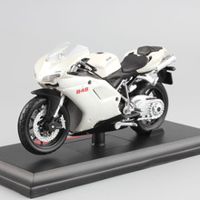 Maisto 1:18 scale Children Superbike 848 EVO metal motorcycle race bike car Diecast model collection Toys Vehicles for kids 2017(China)