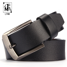 Buy LFMBleather men belt male genuine leather strap trousers male strap genuine leather belt men ceinture homme cuir veritable for $9.25 in AliExpress store