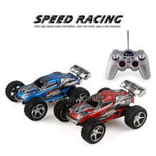 2019 Remote control four wheel drive truck cross-country 1:32 2.4GHZ model remote control car Electric cross country racing mode(China)