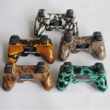 For SONY PS3 Joystick Dualshock Controller Bluetooth Gamepad For Playstation 3 Wireless Console with cool skin