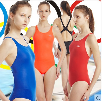 Women Sport Racing Training Swimsuit One Piece Professional Waterproof Swimwear Tights Plus Size Bodybuilding Bathing Beach Suit<br>