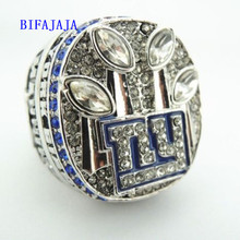 BIFAJAJA Drop Shipping 2011 Super Bowl New York Giants XLVI Championship Ring(China)