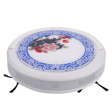 new china wind robotic vacuum cleaner,self-charging ,dommy wall and ultrasonic wave anti-falling(China)