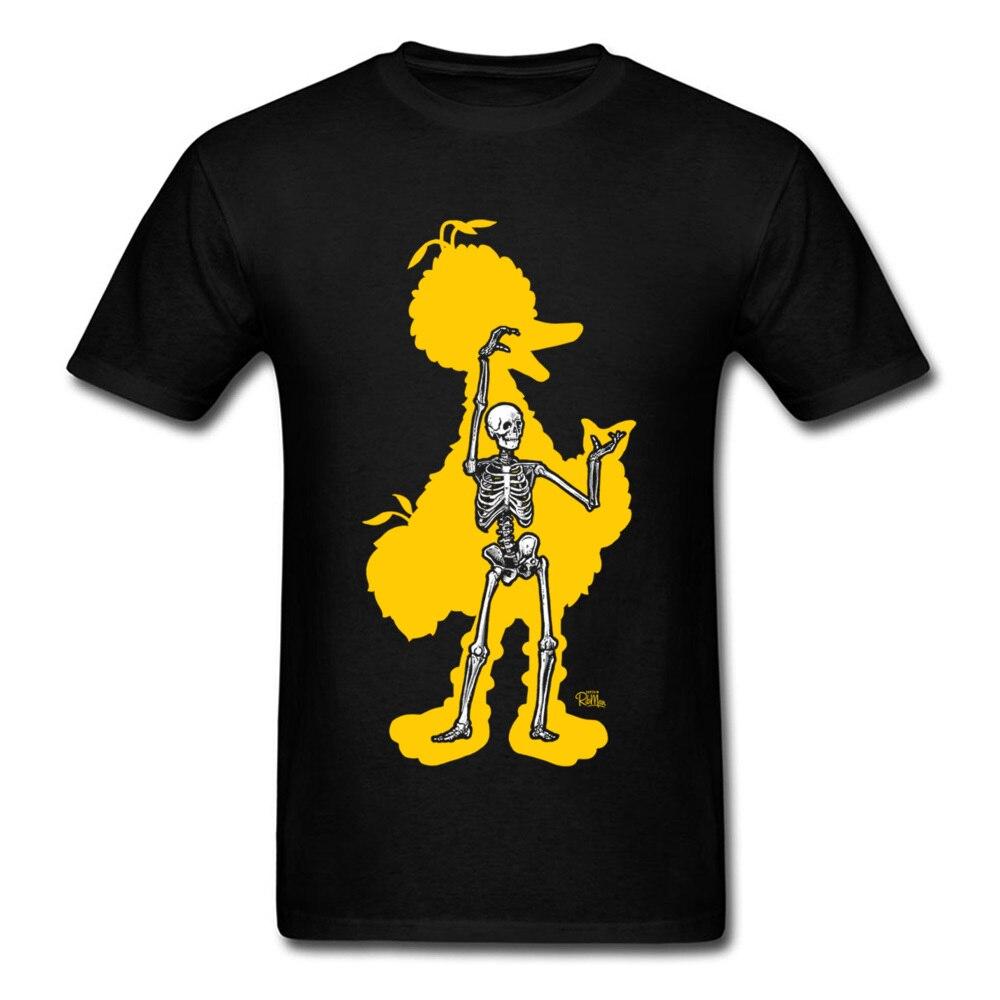 bird x ray 11689 Men Funky Tops & Tees Round Neck Summer Fall 100% Cotton Fabric T-Shirt Normal Short Sleeve Tee Shirts bird x ray 11689 black