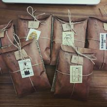 50Pcs/Lot 11*16cm Stationery Universal Condition Envelope Retro Deep Brown Kraft Paper Business Letter Gift Wishes Envelopes1658(China)