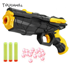 Color Paintball Nerf Toy Gun Water Qrbeez Gun EVA Bullet + Water Toy Shooting Gun