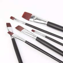 Manufacturers selling Nylon Hair Brushes art supplies wholesale acrylic painting brush painting brush in paint brushes(China)