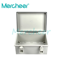 175x250x100mm ABS Plastic Enclosure Box Waterproof Plastic Junction Box with hinge and hasp