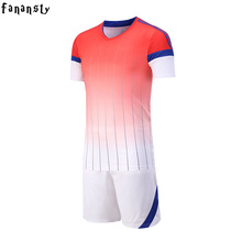 Soccer jerseys men college custom football jerseys cheap soccer set breathable football uniforms kits survetement football 2017