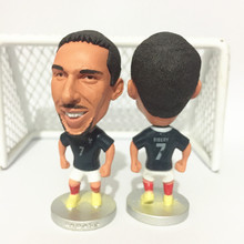 Soccerwe Stand 7 Ribery Doll ( France 2014 ) Blue Kit Collection Gift(China)