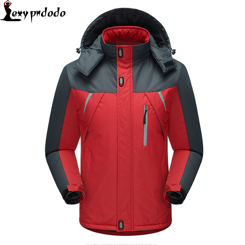 Mens Winter Jackets And Coats 2016 New Cotton-Padded Down Jacket Mens Winter Parka Thermal Thick Outdoor Sports Coat Windproof