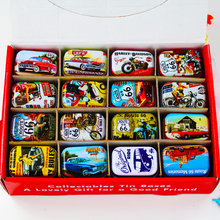 European Style Cute Tin Box Elegant 32Piece/Lot Mac Makeup Cosmetic Container For Jewelry Lipstick Portable Tin Box For Family(China)