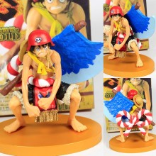 Anime one piece monkey d luffy axe Ver PVC Action Figure Collectible Model doll toy 12cm