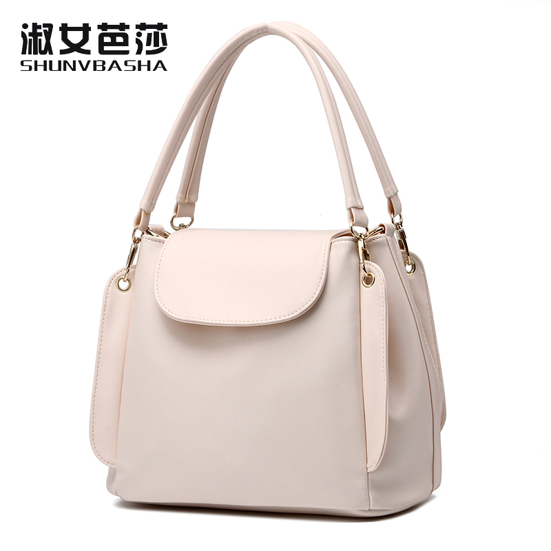 Women Bag Sweet lady Totes Layer package cover type Soft package Elegant Handbag Shoulder bag Female<br>