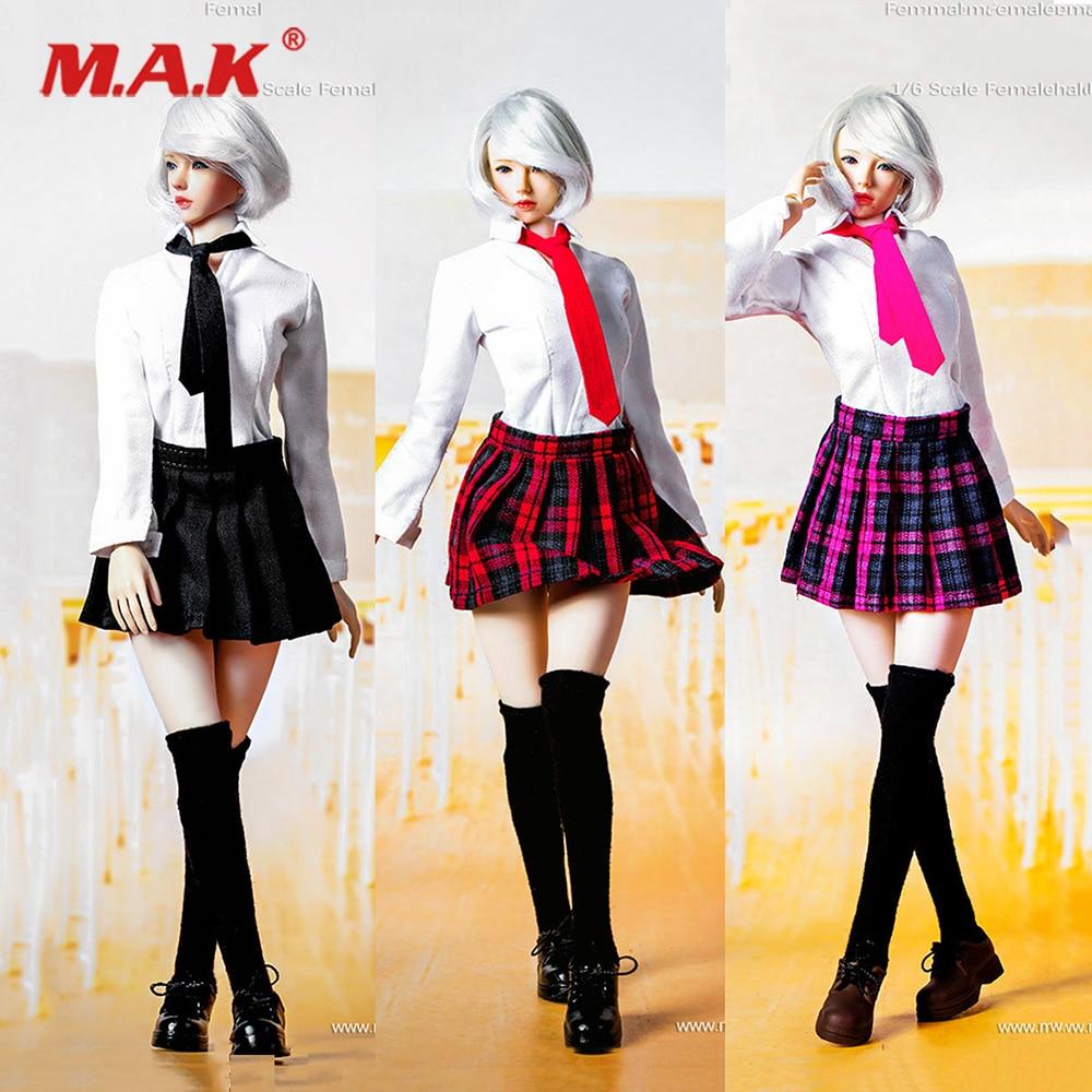"1:6 Phicen TBLeagure Rocket Girl long sleeve Shirt F 12/"" Female Figure Doll Toy"
