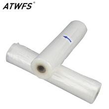 ATWFS Newest 25cmx500cm 1 Roll Vacuum Sealer Food Saver Bag for Kitchen Vacuum Storage Bags