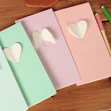 Hot 2 Pcs Cute Love Confession Blessing Creative Folding Greeting Card Message Christmas Birthday Accessories 2018(China)
