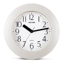 Simple Bathroom Wall Clock Creative Home Decor HD Vapour Resistant Clocks WITH HOOK&STAND(China)