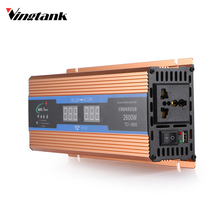 Vingtank Car inverter 2600 W DC 12 V to AC 220 V Power Inverter Charger Converter Sturdy and Durable Vehicle Power Supply Switch(China)