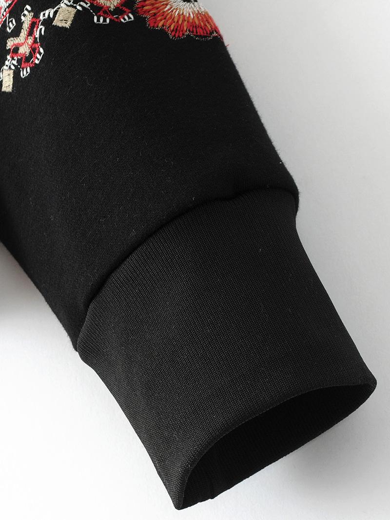 ShejoinSheenjoy Hooded Long Sleeve Loose Hoodies Women Fashion Black Vintage Floral Geometric Embroidery Sweatshirt Pullovers (19)