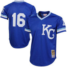 Uomo MLB KANSAS CITY ROYALS BO JACKSON George Brett Jersey(China)