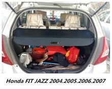 JIOYNG For Honda FIT JAZZ 2004.2005.2006.2007 Car Rear Trunk Security  Shield Cargo Cover( Black Beige)
