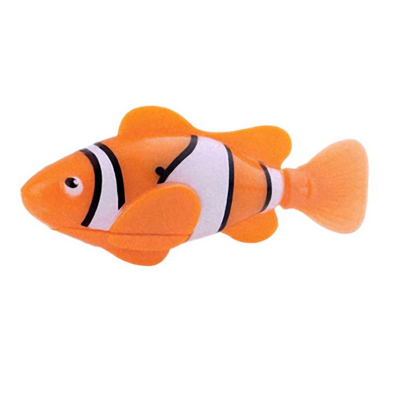 Funny New Swim Electronic Robofish Toys Activated Battery Powered Robo Toy fish Robotic Pet for Fishing Tank Decorating(China (Mainland))