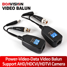 1CH Video Balun Passive Supply Power For High Definition AHD/HDTVI/HDCVI Camera,Power-Video-Data Signal Are Routed Via UTP&RJ4