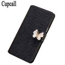 Cupcall New Fashion Pu Leather Flip Case Phone bag For Samsung Galaxy Gio S5660 Leather Protective Cover Case Free 1Pcs(China)