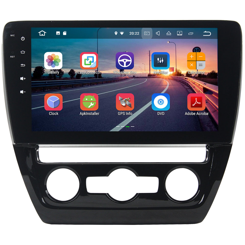 Quad Core 2GB RAM 16GB ROM Android 7.1.2 Car Radio Stereo MP3 Player Digital Bluetooth for Volkswagen Sagitar 2015 2016
