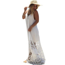 Buy Women's dress 2017 Dress Sexy Dresses Women boho Summer female vestidos mujer Casual Lace Long Maxi Evening Party Beach dresses for $9.93 in AliExpress store