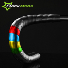 Rockbros Waterproof Bicycle Handlebar Tape Tour De France Road Bike Bent Tape Strap Carbon Manillar Bicycle Parts Accessories(China)