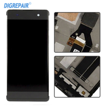Display For Sony Xperia XA F3111 Display LCD Touch Screen Digitizer Assembly Replacement+ Frame Black White(China)