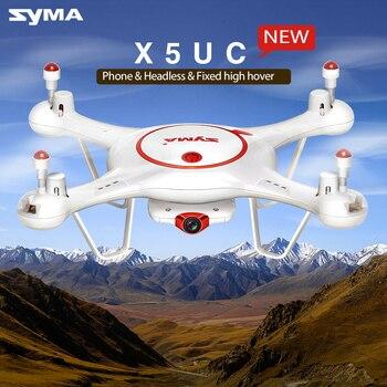 2017 Nouveau Oringal Syma Drone X5UC RC Quadcopte 2.4G 4CH Hover Fonction Sans Tête Mode, 2.0MP HD Caméra, X5UC mise à niveau Nouvelle Version