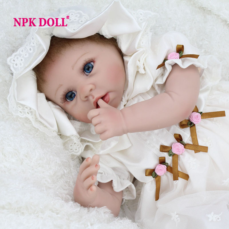 Aliexpress Com Reborn Baby Dolls For Adoption Fake Babies That Look Real Silicone Christmas Decorations Gift From Reliable Toy Doll